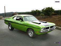 1971 Dodge Demon. Hell on wheels.