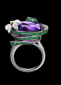 """Piaget amethyst creative """"cocktail"""" ring"""