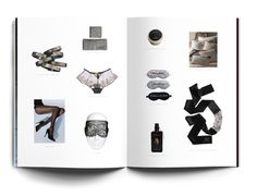 Victoria's Secret inspiration book 2010 by Hovard Design, via Behance