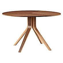 Buy Wales & Wales for John Lewis Radar 6 Seater Round Dining Table, Walnut Online at johnlewis.com
