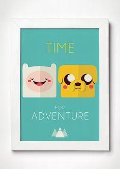 Poster Hora da Aventura - Meu Adorável Iglu