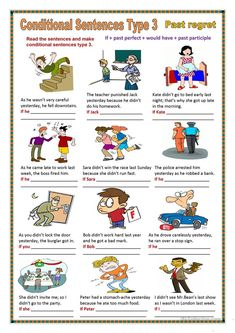 Conditional sentences type 3 worksheet - Free ESL printable worksheets made by teachers English Grammar Games, English Language Learning, English Vocabulary, Teaching English, English Primary School, Kids English, English Lessons, Learn English, English Worksheets For Kids