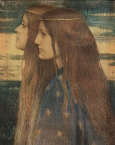 Antoon van Welie (Dutch, 1866-1956). Les princesses de légende. 1899.