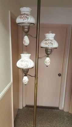 Vintage Mid Century Tension Pole Lamp Light
