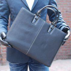BELIVUS Lux Face Best Premium Buffalo Leather Men's Briefcase Bag SSB026 | eBay