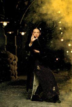 Ziyi Zhang in The Grandmasters (Yut doi jung si - 2012) - Wong Kar Wai