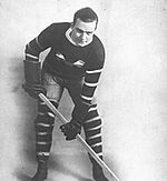 Nels Stewart from the Montreal Maroons Ted Kennedy, National Hockey League, Toronto Maple Leafs, Team Names, Ice Hockey, Montreal, Nhl, Line, Coaching