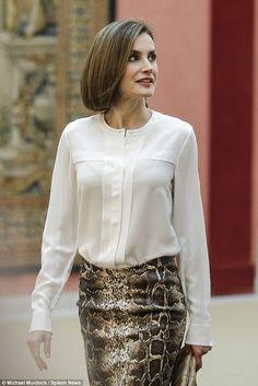 Reines & Princesses: Réunion avec la fondation Princesse des Asturies, Madrid