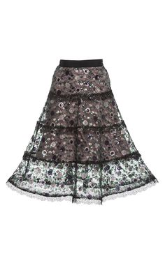 Irma Embellished Flare Skirt by ALEXIS for Preorder on Moda Operandi