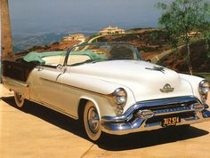 1953 Oldsmobile 98 Fiesta Convertible.
