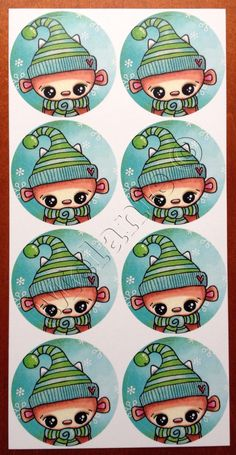 Doepa winter stickers 2