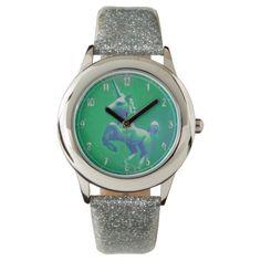 Unicorn Wrist Watch | Glowing Emerald