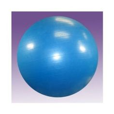 I'm learning all about Hugger Mugger Yoga Product's Exercise Ball With Pump Yoga Ball Blue Hugger at @Influenster!