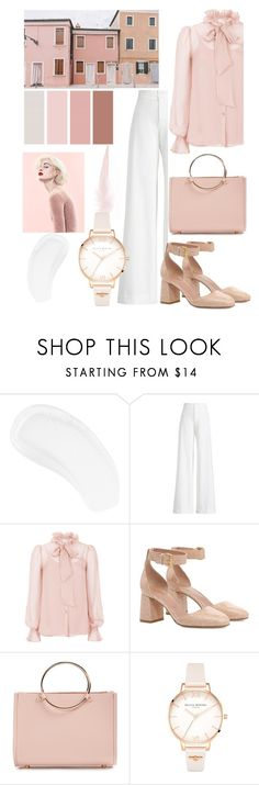 """""""Sugar Honey"""" by sasaisa02 ❤ liked on Polyvore featuring Temptu, Ralph Lauren Collection, Temperley London, RED Valentino, Future Glory Co., Marc and Olivia Burton"""