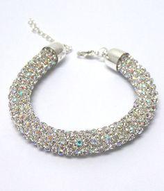 Crystal Rope Bracelet – JaeBee Jewelry