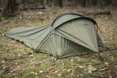 The Stratosphere from Snugpak is a one-man bivvy shelter, though calling it a one-man tent would be more appropriate, because it has all the advantages of a tent.