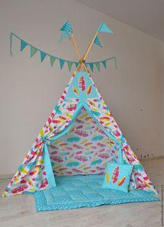 Купить ВОЛШЕБСТВО вигвам - комбинированный, вигвам, вигвам для детей, типи, Палатка, Игровой домик