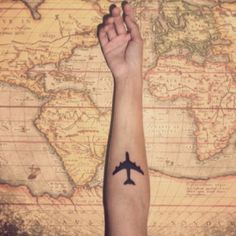 wanderlust. tattoo. travel.