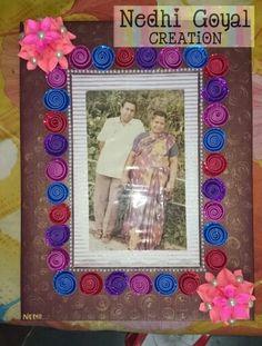 Anniversary frame....