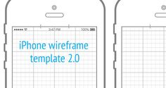 iphone 5 wireframe template ai - Google Search | Ui | Pinterest ...