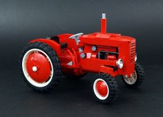 Lego Old Red Tractor