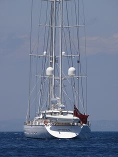 SY ETHEREAL by josephmeo, via Flickr. Available to charter. South Pacific cruising.