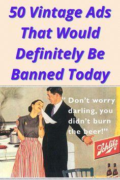 50 Vintage Ads That Would Definitely Be Banned Today Diy Barbie Clothes, Diy Crafts For Girls, B 13, Diy Bags, Hacks Diy, Just Amazing, Diy Food, Vintage Ads