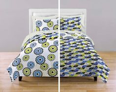 Flip It Kaleidoscope Bedding Comforter Set