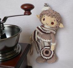 coffee Elf by Trisha-N on DeviantArt #amigurumidoll #amigurumi