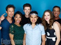 The cast of #TheFlash #CWSDCC
