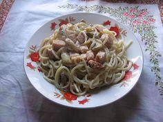 jurnalul unui om fără duminici: Spaghete cu ciuperci, smântână și bacon