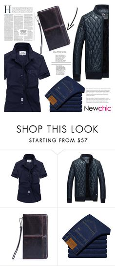 """""""188 newchic"""" by erohina-d ❤ liked on Polyvore featuring men's fashion and menswear"""