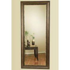 Check out the Coaster Furniture 900672 Long Floor Mirror in Copper