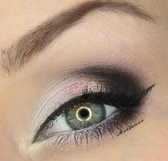 This is a pretty and understated smokey eye. I would do this... wonder how it will look with hooded eyelids tho...