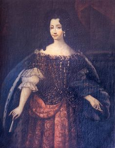 1690 Anne-Marie d'Orléans, duchesse de Savoie, reine de Sardaigne by ? (location unknown to gogm) | Grand Ladies | gogm