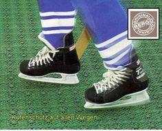 Kufenschutz auf allen Wegen durch den Bergo Multisport Sportbelag