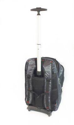 Viajway TrolleyMate X316 Rolling Backpack with Removable Handle and Wheels  Buy it today! #viajway #travel #viajar #viajes #deals #luggage #bags #womensbackpack #mensbag #mensbackpack #wheeledbackpacks #trolleybag #backpackdeals
