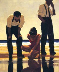 Jack Vettriano, 1951 ~ Fallen angels | Tutt'Art@ | Pittura * Scultura * Poesia * Musica |