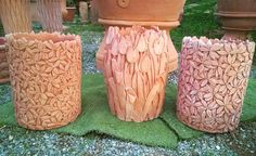 Flower terracotta vases! ! Everything is possible. By Massimo carbone terrecotte