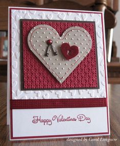 Thanks for a great challenge last week, your cards were beautiful !    This week we challenge you to make Valentine's  one more time for ou...