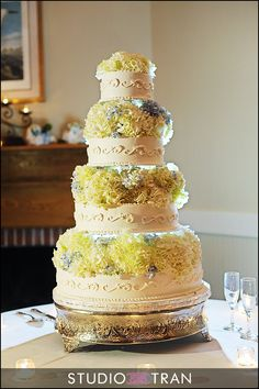Meade flowers; Love the cake!
