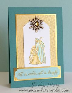 Stampin Up All Ye Faithful for Christmas 2015 - Judy May, Just Judy Designs