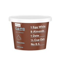 Adding a scoop of PrescriptFit to this high protien RX Oatmeal makes for an easy, delicious and healthy breakfast or snack. High Protien, Yellow Fruit, Oatmeal, Therapy, Medical, Nutrition, Snacks, Bar, Chocolate