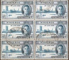 Nigeria 1946 SG 61 Victory Fine Used SG 61 Scott 72 Other Commonwealth Stamp items here