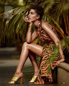 The resort 2016 collections take the spotlight in the latest issue of How to Spend It from the Financial Times. Focusing on dramatic ruffles and and fancy frills, model Maria Palm heads to a tropical setting for the luxe editorial. Andrew Yee (Atelier Management) captures the brunette in romantic looks from the likes of Alexander …