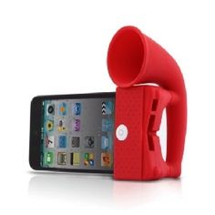 Horn Stand Amplifier Speaker for iPhone 4 [4618] - US$5.40 - China Electronics Wholesale - FlyDolphin.com - StyleSays