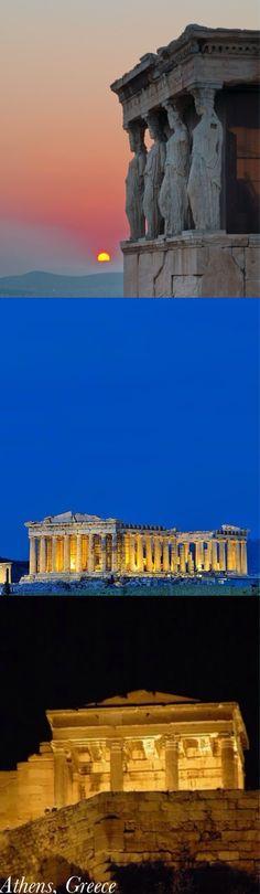 Athens, Greece  http://www.travelandtransitions.com/destinations/destination-advice/europe/