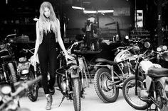 MotoChick - Pipeburn - Purveyors of Classic Motorcycles, Cafe Racers & Custom motorbikes