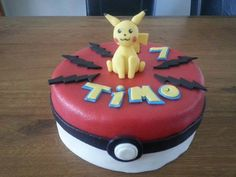 Pokemon/Pikachu taart
