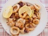 Cooking Channel serves up this Fried Calamari recipe plus many other recipes at CookingChannelTV.com